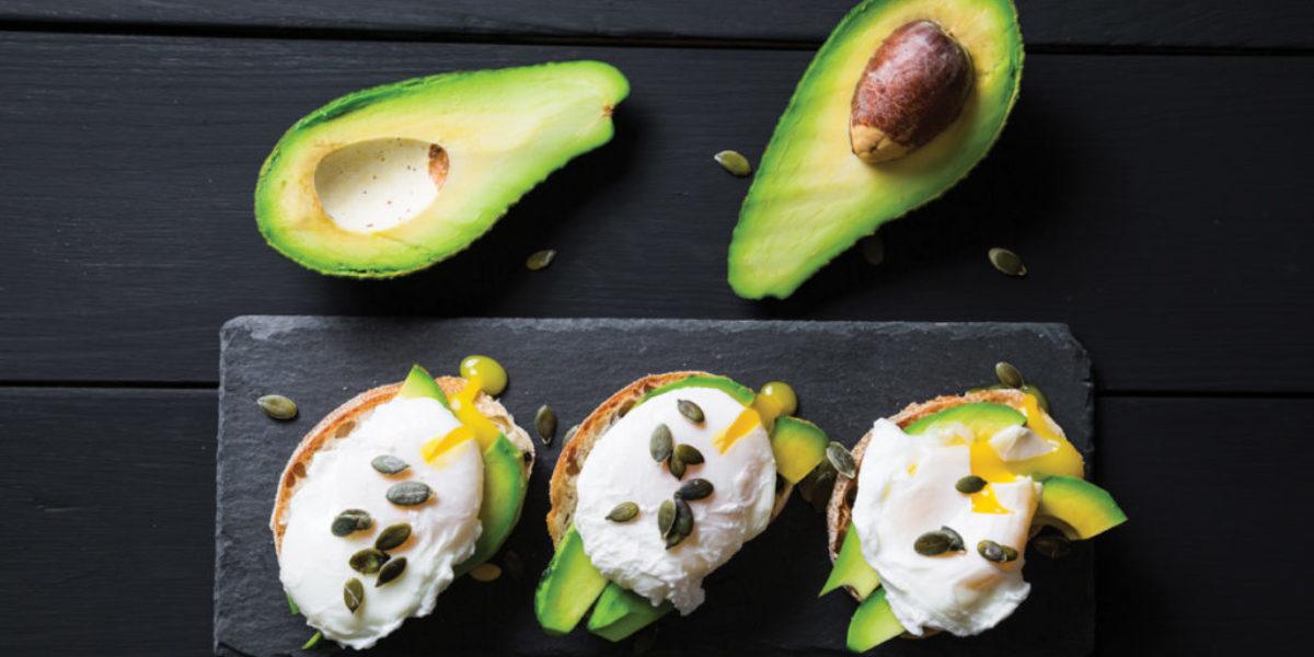 Avocado-slices