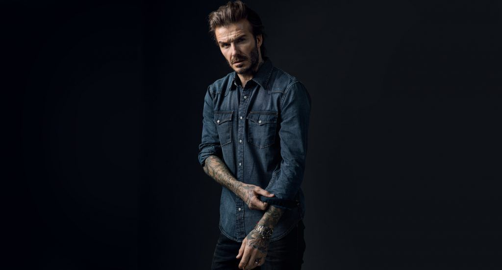 David-Beckham-bending-up-his-sleeve