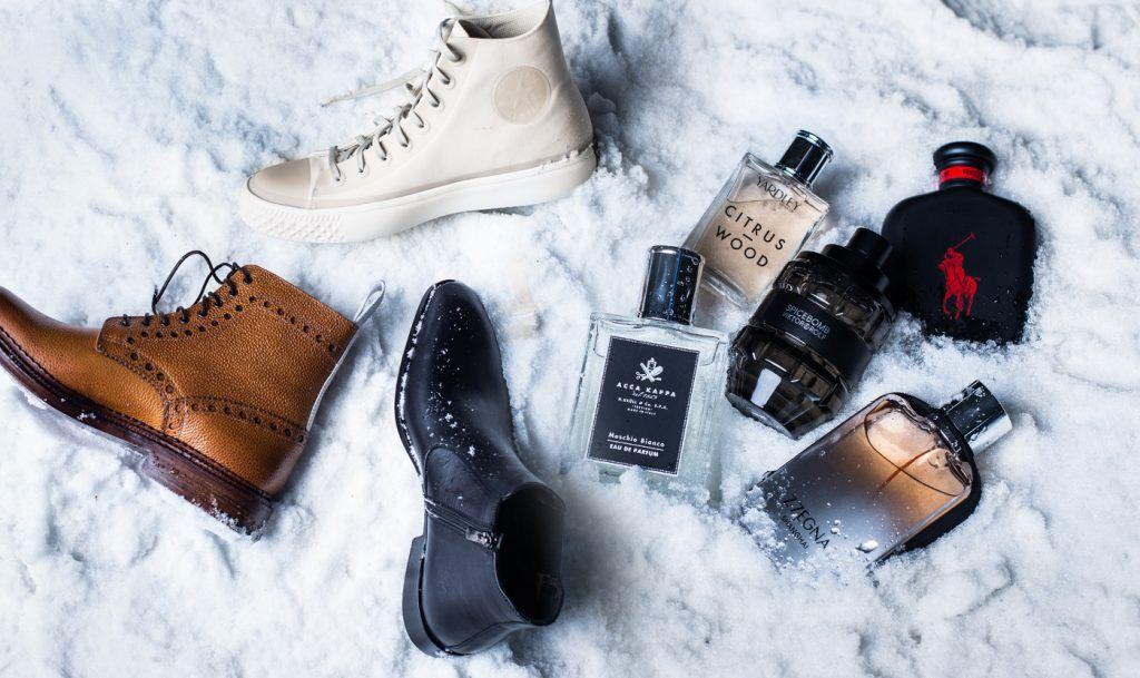 Flatlay-snow-style