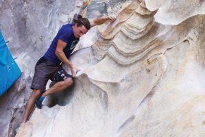 Climbing-rock