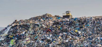 Rubbish-pile