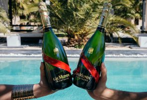 Champagne Mumm grand Cordon bottles MarrakechTW