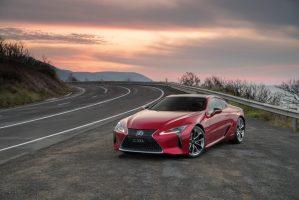 Lexus LC500h + EP