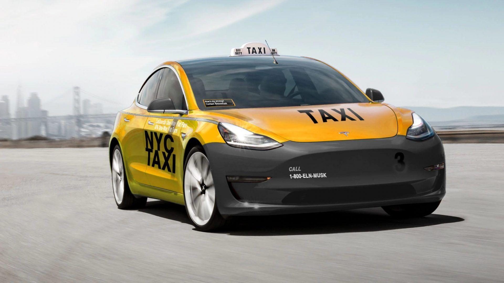 Tesla-Model-3-Taxi