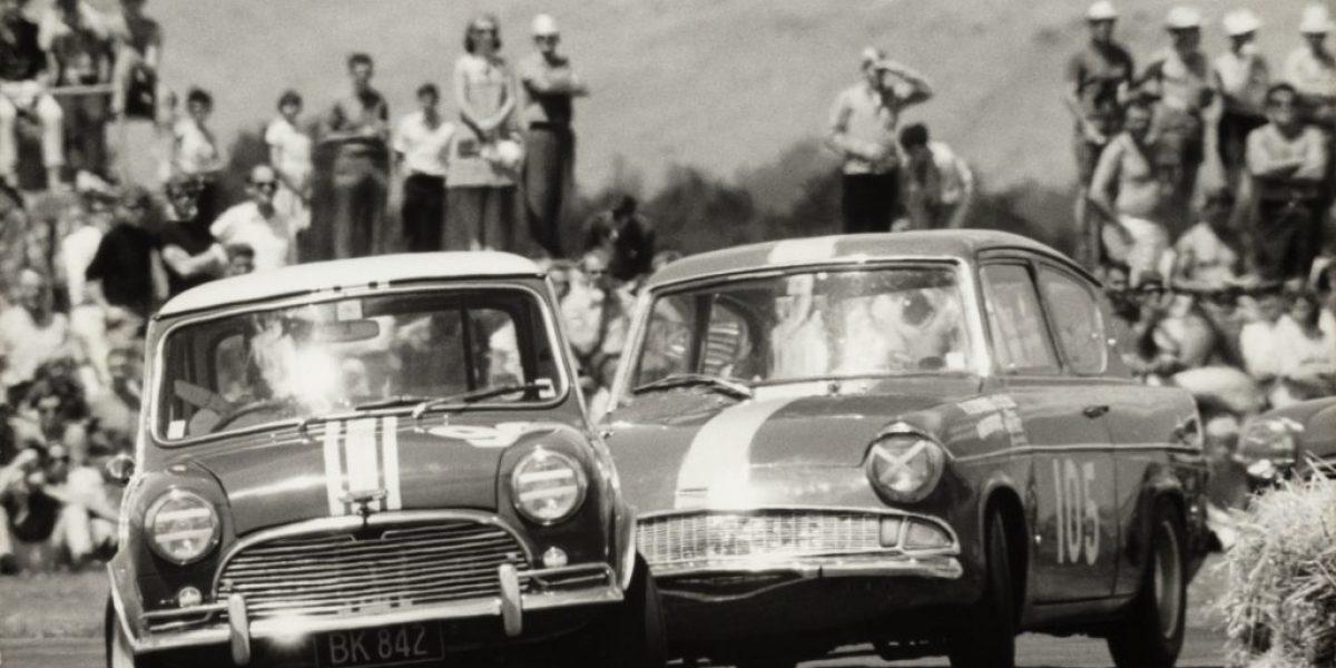 1968 - Mini wins the NZ Saloon Car Champs