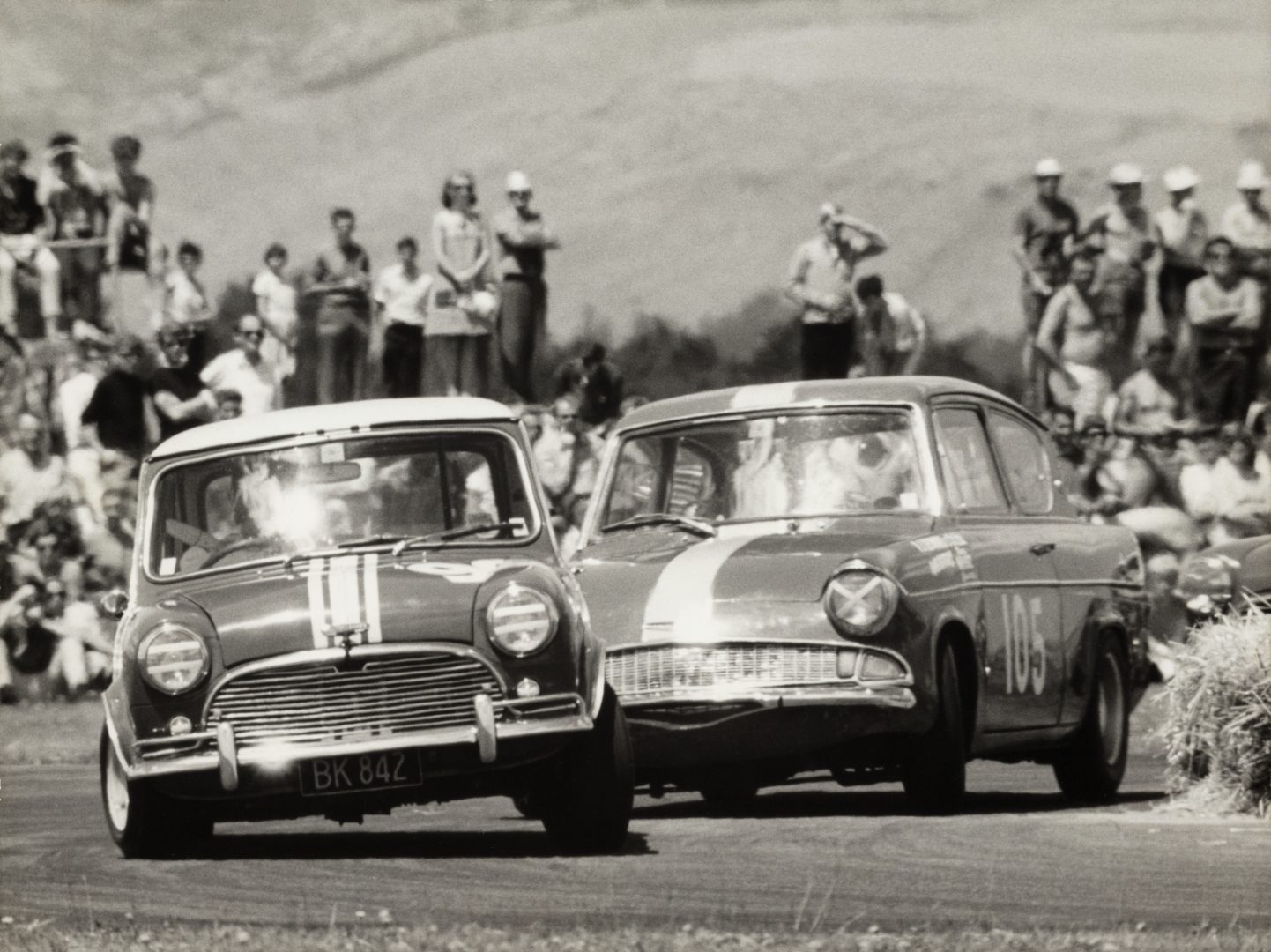 1968 - Mini wins the NZ Saloon Car Champs