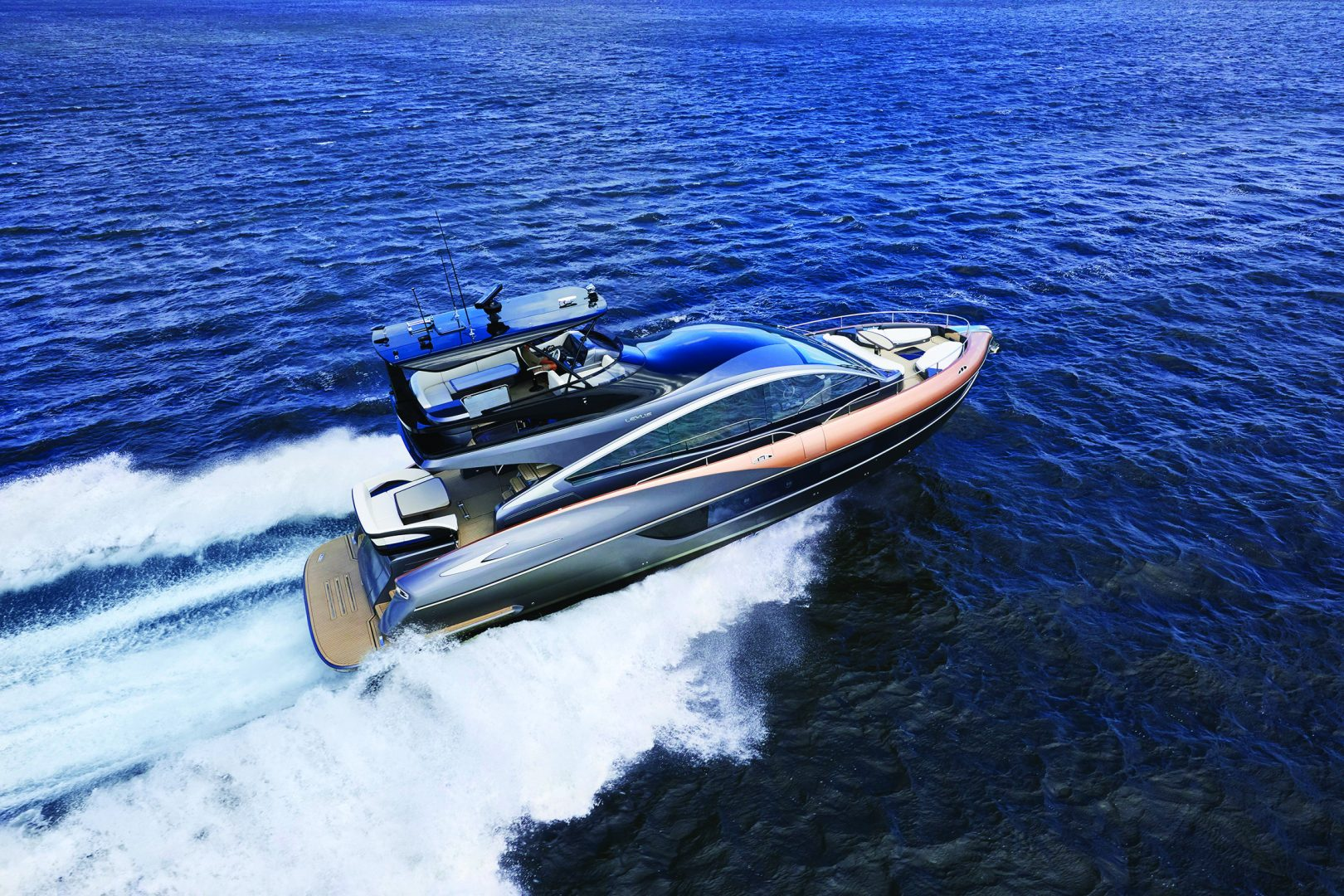 IMAGE-Lexus Yacht LY650, globally premiered yesterday in Florida