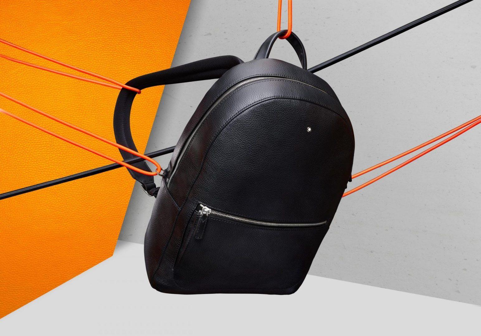 Meisterstück Soft Grain Re-launch Medium Backpack126234StringsOrange