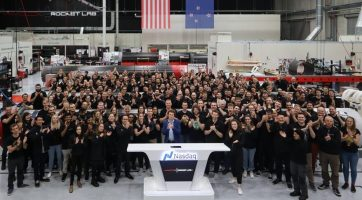 M2now.com -Beck Rings The Bell As Rocket Lab Finally Debuts On Nasdaq