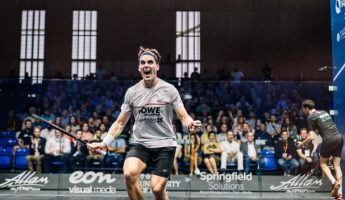 """M2now.com - Coll Makes Kiwi Sporting History At The """"Wimbledon Of Squash"""""""