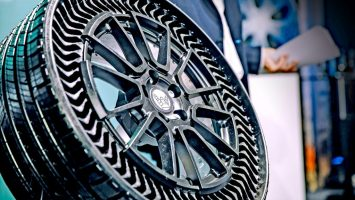 M2now.com - Micheline Just Reinvented the Wheel, And It Doesn't Go Flat