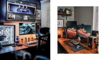 M2now.com - Home Workstation Layouts To Inspire Your Creativity & Make You Productive